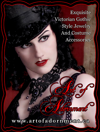 Art of Adornment ~ Victorian Gothic Jewelry & Accessories