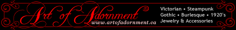 Art of Adornment ~ Victorian Gothic Jewelry and Accessories