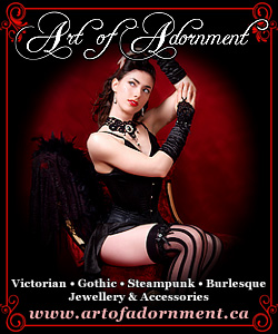 Art of Adornment ~ Victorian Gothic Jewelry and Accessories 250x300 banner 17