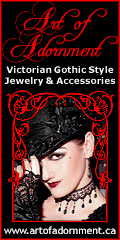 Art of Adornment ~ Victorian Gothic Jewelry and Accessories 120x240 banner 5