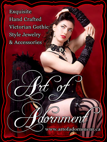 Art of Adornment ~ Victorian Gothic Style Jewelry & Accessories