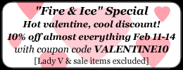 10% Off Coupon - Valentine's Day Weekend Special