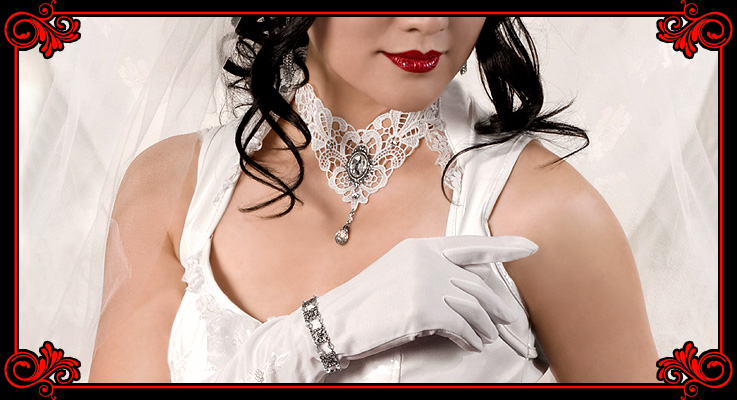 Art of Adornment Victorian Gothic Jewelry and Accessories Wedding Jewelry