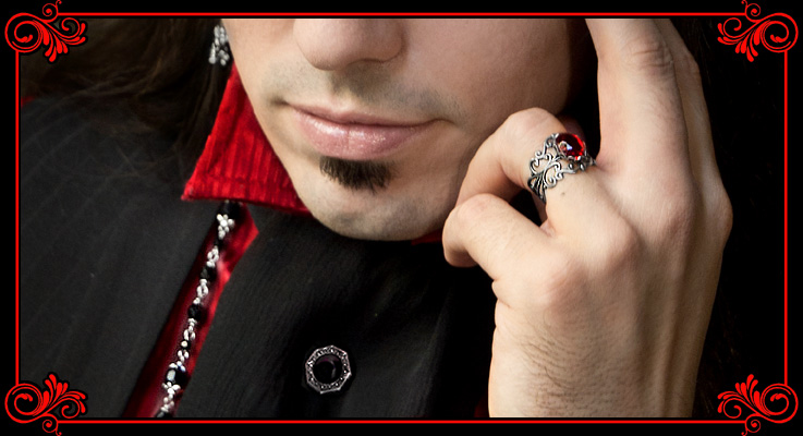 Art of Adornment Victorian Gothic Jewelry and Accessories Men's Unisex